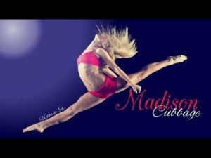 Madison Cubbage trained at Alexandria, Virginia's Strictly Rhythm dance studio and is well known for her on-line dance videos as well as dancing with The PULSE on tour.